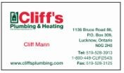Cliff's Plumbing & Heating