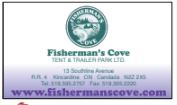 Fisherman's Cove Tent & Trailer park